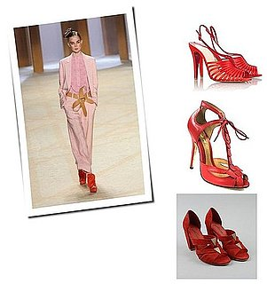 Get The Look: The Red Shoe