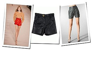 The Trend Extends: Spring 2009 Leather Shorts