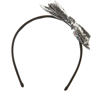 Sequin Bow Headband $24 @ Topshop