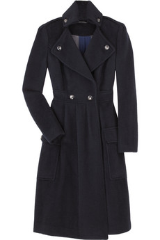 Diane Von Furstenberg Long Wool Blend Coat Was $725 Now $507.50 @ Net-a-Porter