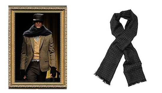 Diamond Star Scarf Was $210 Now $147 @ Obedient Sons