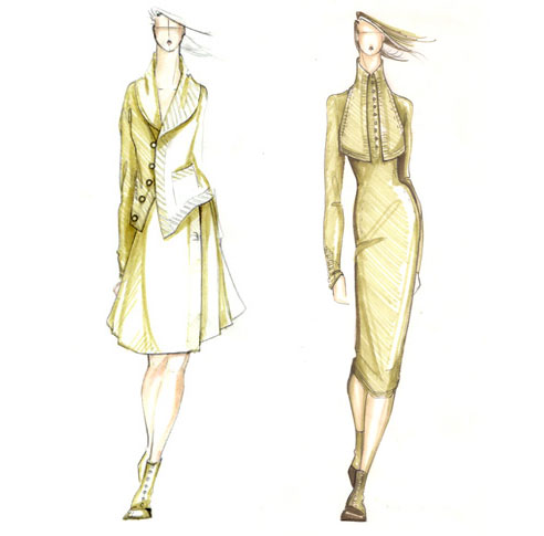 Sketches for Fall 2009.&lt;BR&gt;
