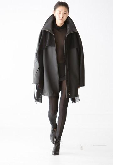Jeremy Laing Fall 2009: Stilled with Steel