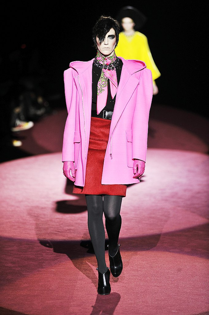 Hannelore Knuts at Marc Jacobs