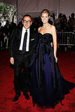 Gilles Mendel and Heidi Klum in J.Mendel