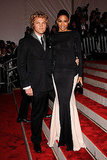 Peter Dundas with Ciara in Emilio Pucci