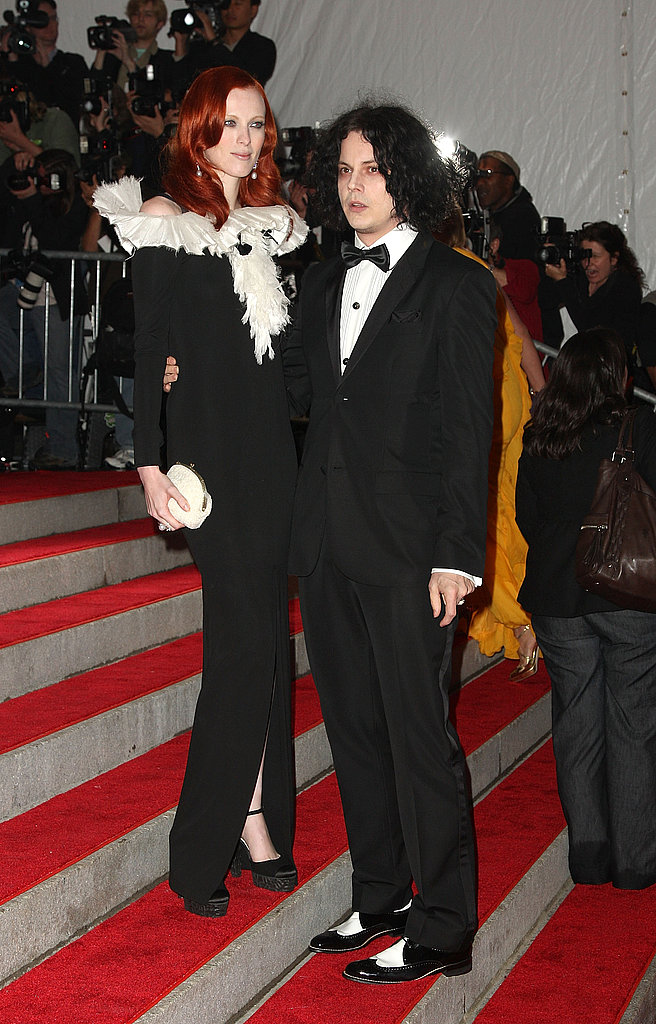 Karen Elson in Chanel with Jack White
