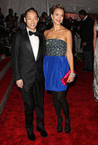 Jason Wu with Jessica Alba in his design