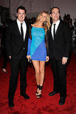 Marcus Wainwright, Maryna Linchuk in Rag & Bone, and David Neville