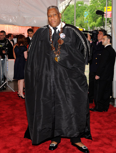Andre Leon Talley in Isabel Toledo