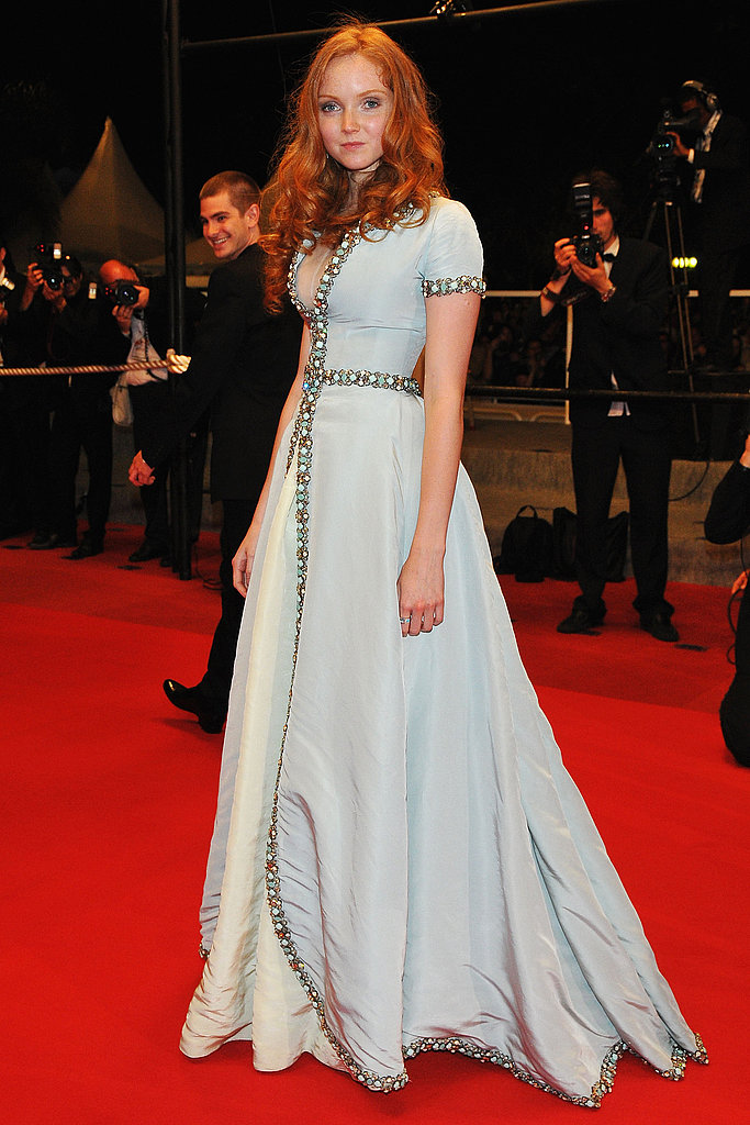 Lily Cole at The Imaginarium of Dr. Parnassus premiere