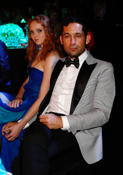 Lily Cole and boyfriend Enrique Murciano