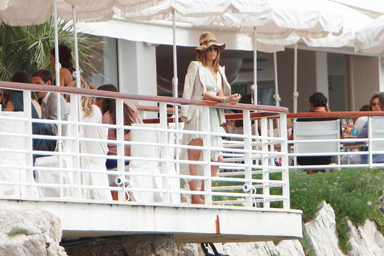 May 22: Carine Roitfeld at Amend Charity Luncheon, Hotel du Cap