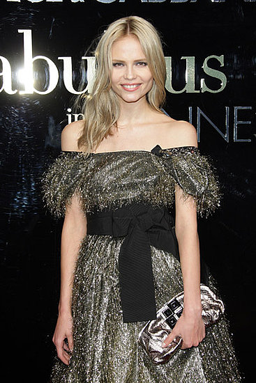 "May 22: Natasha Poly at Dolce & Gabbana's ""Fabulous in Cannes"" bash at Le Baoli"
