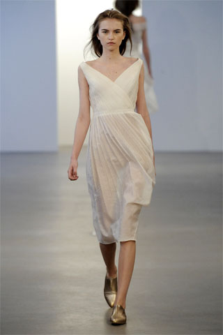 Francisco Costa Pushes the Idea of Resort 2010 with Sheer Dresses for Calvin Klein