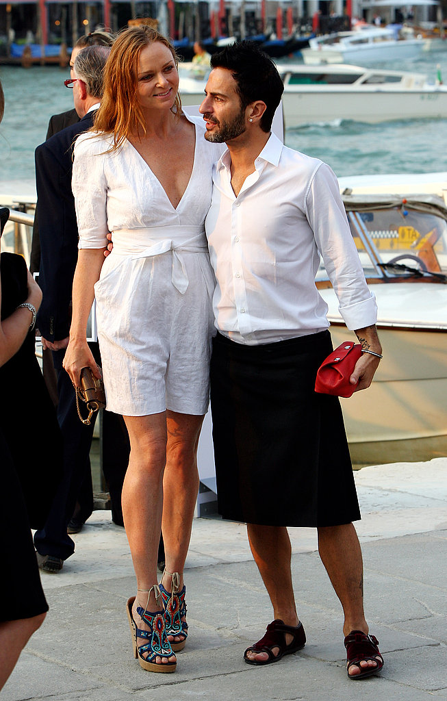 June 4: Stella McCartney and Marc Jacobs at the opening of the Francois Pinault Foundation