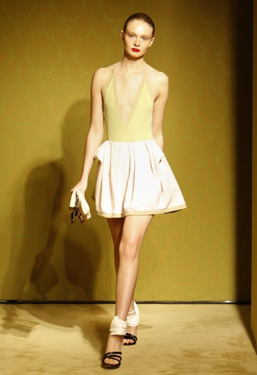 Miuccia Prada Mixes Sportswear with Beachwear for Miu Miu Cruise 2010