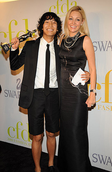 Alexander Wang and Nadja Swarovski