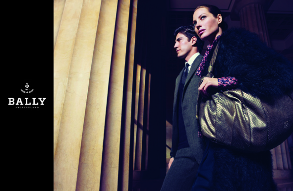 Bally Sticks With Christy Turlington for Fall 2009 Ad Campaign