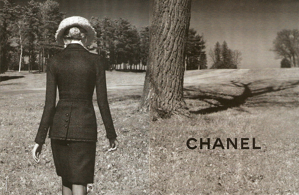 Karl Lagerfeld Showcases His Vermont Land in Chanel Fall 2009 ads, Premieres Animated Role, and Inspires a Bag