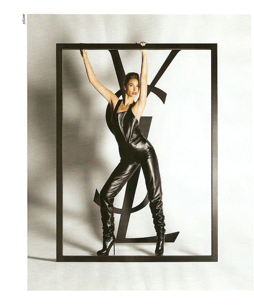 Christy Turlington Is Yves Saint Laurent's Fall 2009 Campaign Supermodel