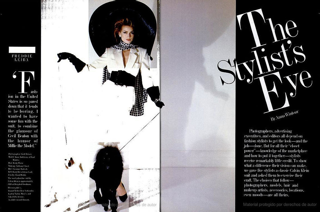 January 1983: The Stylist's Eye