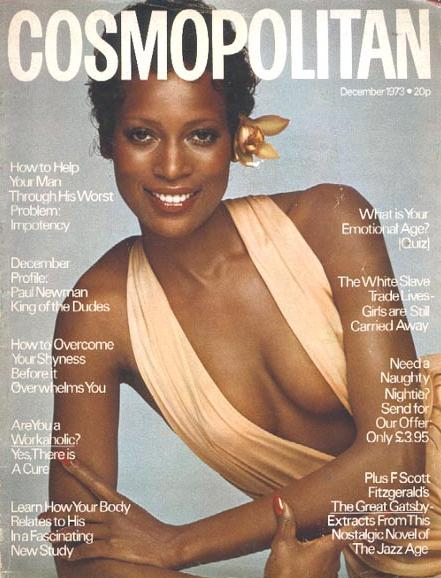 Dec. 1973: Cosmopolitan cover by Francesco Scavullo