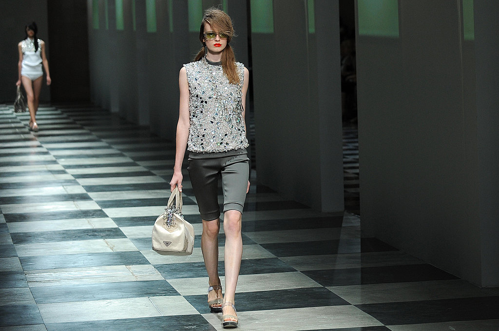Miuccia Takes Prada to a Crystalline Beach for Spring 2010