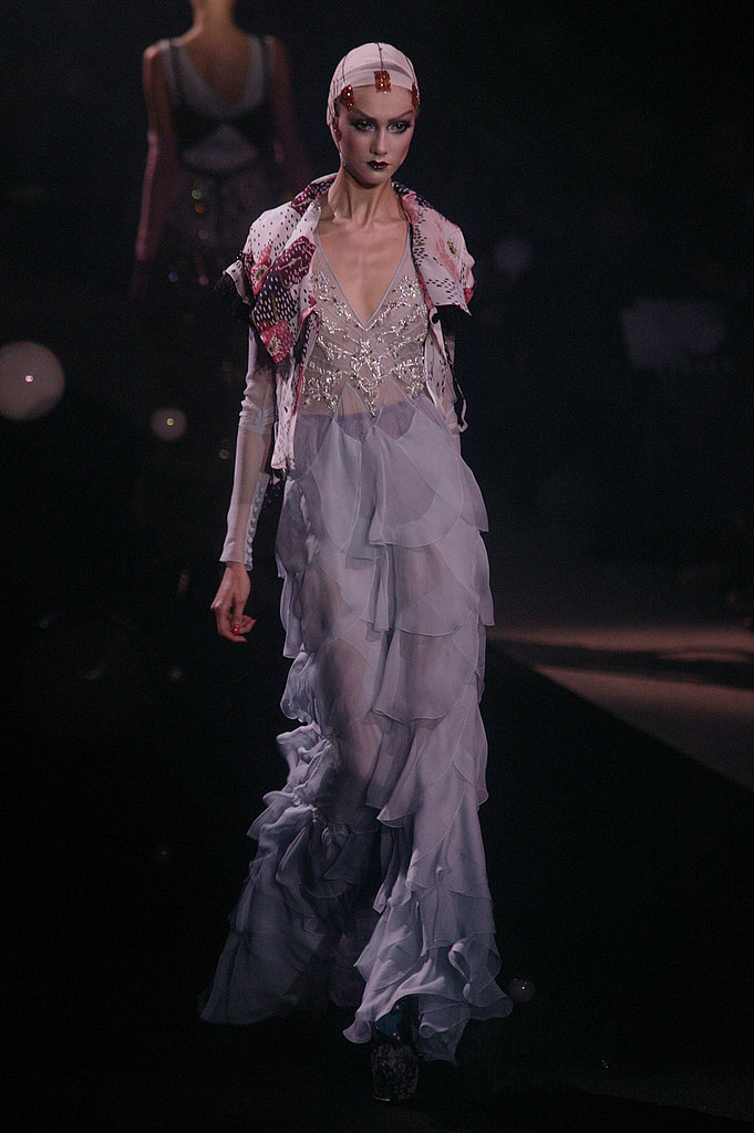 John Galliano Harks Back to Fading Film Stars for Spring 2010