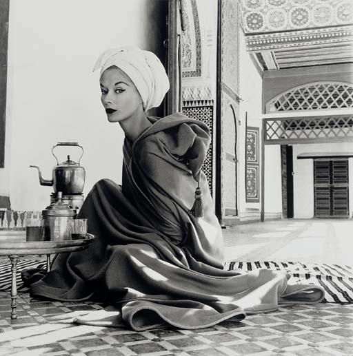 Woman in Moroccan Palace (