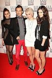 Alice Dellal, Matthew Williamson, Pixie Geldof and Sarah Ann