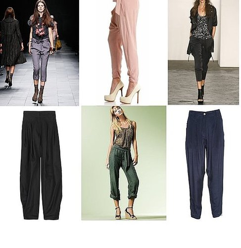 Spring 2009 Trend Report: Tapered Silk Trousers