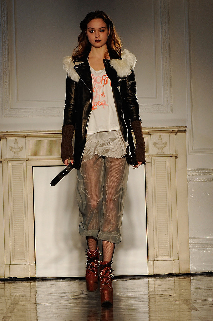 London Fashion Week: Charles Anastase Fall 2009