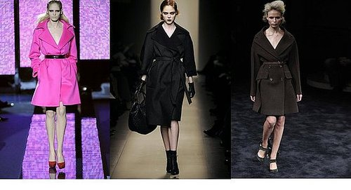 Fall 2009 Milan Trend Report: Forties Style Outerwear
