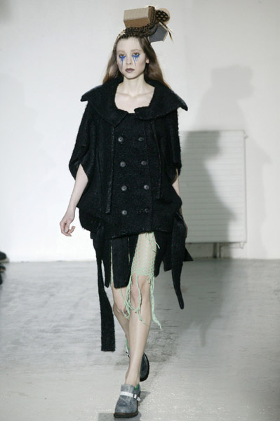 Paris Fashion Week: Bernard Willhelm Fall 2009