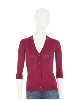 The cropped cardigan (Sale $49 @ Barneys) is the right weight for spring, which also means it fits in your purse.