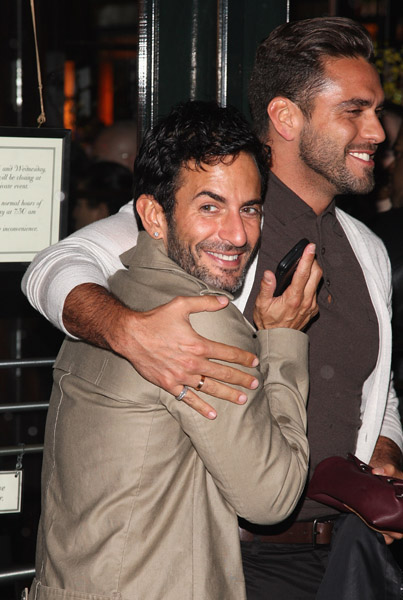 Marc Jacobs and husband Lorenzo Martone
