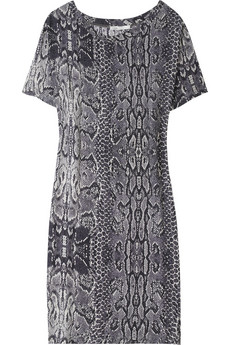 Parly snake-print T-shirt dress $175