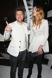 Christopher Bailey and Lily Donaldson