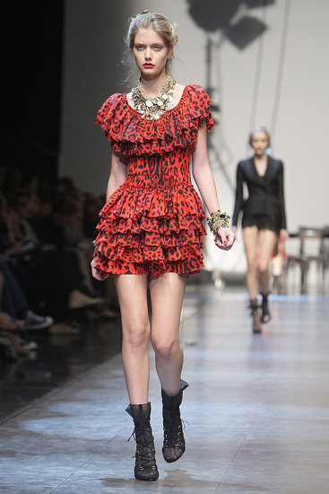 Milan Fashion Week: Dolce & Gabbana Spring 2010