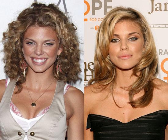 Should AnnaLynne McCord go for curls or waves?