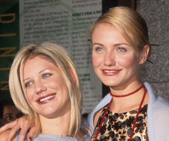 Chimene and Cameron Diaz