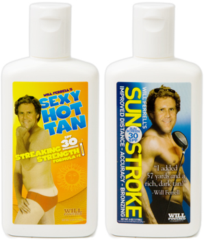 Will Ferrell Promises a Sexy Hot Tan . . . or Sunstroke