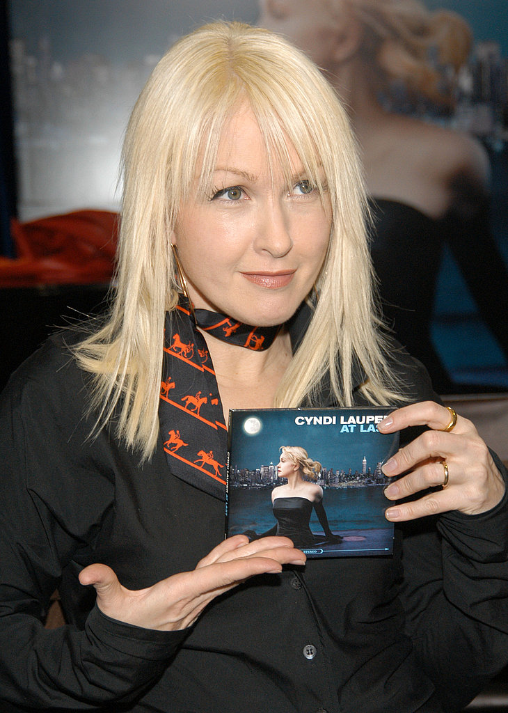 At a Record Signing, 2003