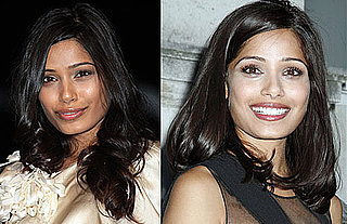 Which Hairstyle Looks Better on Freida Pinto?