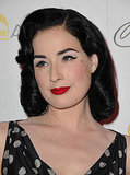 Dita Von Teese Tweets Her Beauty Secrets