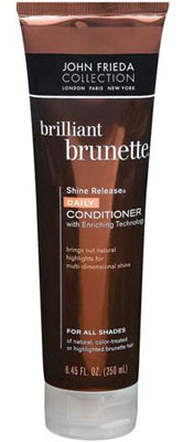 Reader Review of the Day: John Frieda Brilliant Brunette Shine Release Daily Conditioner