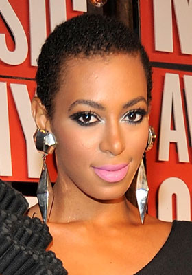 Solange Knowles at the 2009 MTV VMAs
