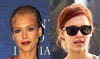Pictures of Jessica Alba's New Red Hair