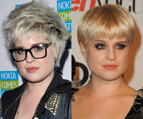 What look works better for Kelly Osbourne?
